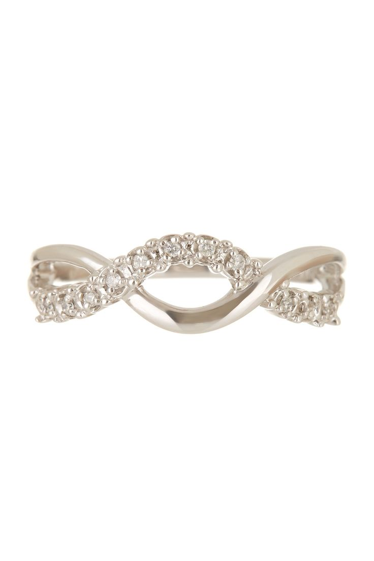 Bony Levy | 14K White Gold Diamond Stackable Band - 0.05 ctw | Sponsored by Nordstrom Rack