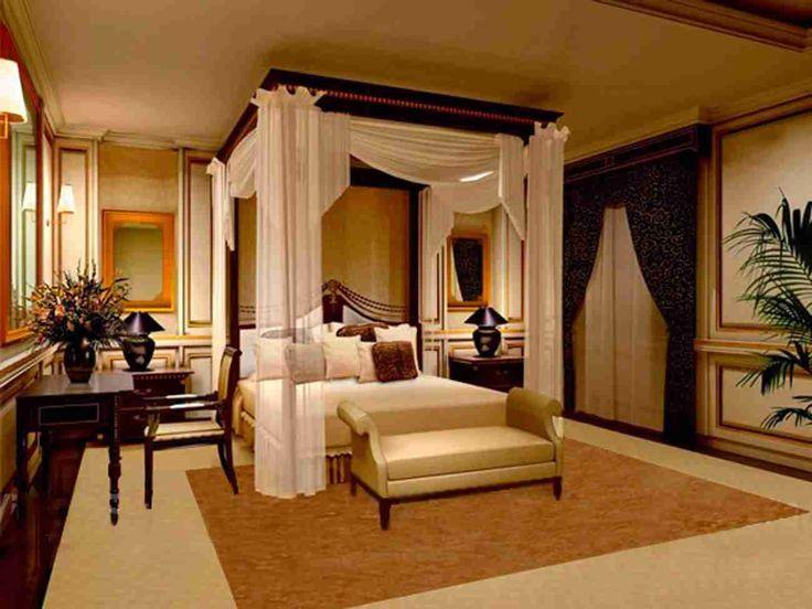 Luxury Bedrooms Bedroom Designs Interior Designs Romantic Luxury Bedroom Designs With Curtains  #DIY #HomeDecor #Home #love