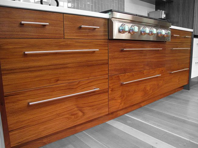 IKEA kitchen door fronts walnut drawers (With images ...