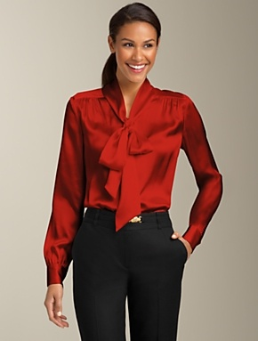 opaque secretary blouseTies Neck Tops, Fashion, Work Wear, Fall 2012, Silk Charmeuse, Talbots, Charmeuse Ties Neck, Charmeuse Tieneck, Tieneck Tops