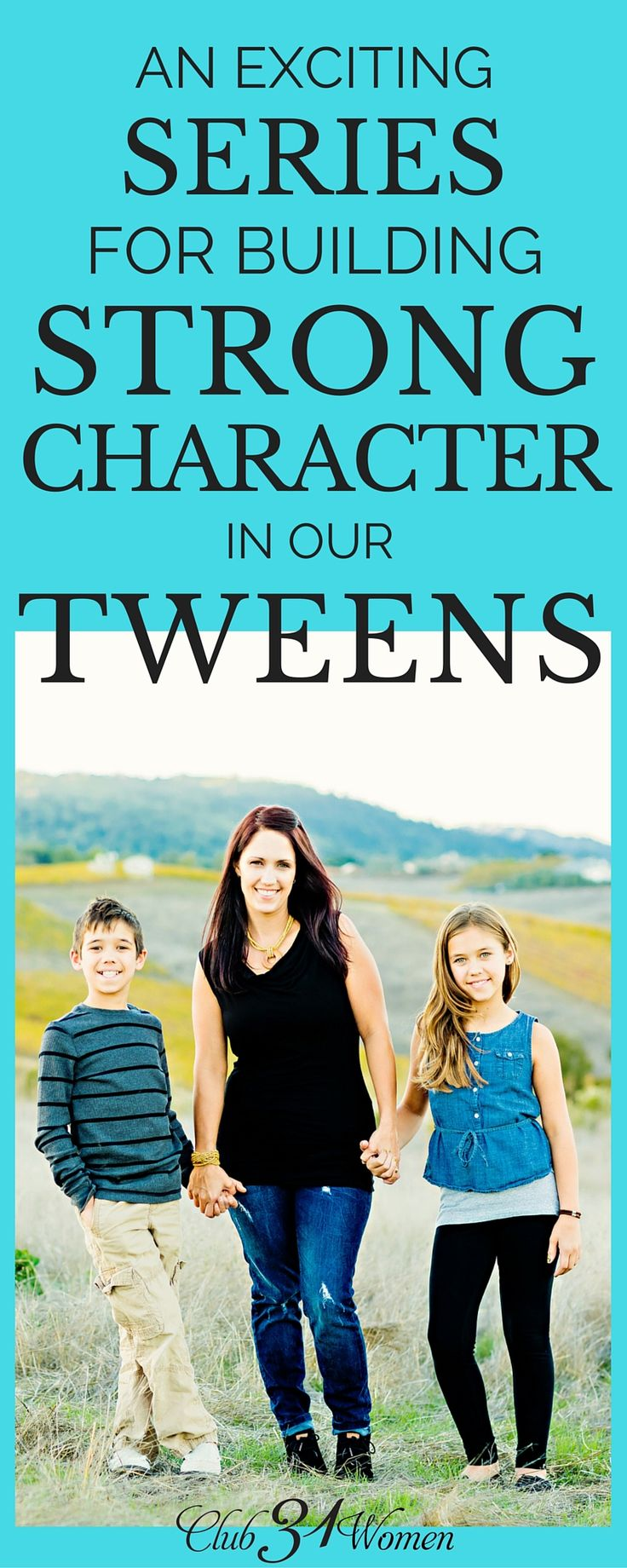 Looking for a character-building resource for your tweens? Here's one of my favorites for encouraging, inspiring, and entertaining those tween-age kids!