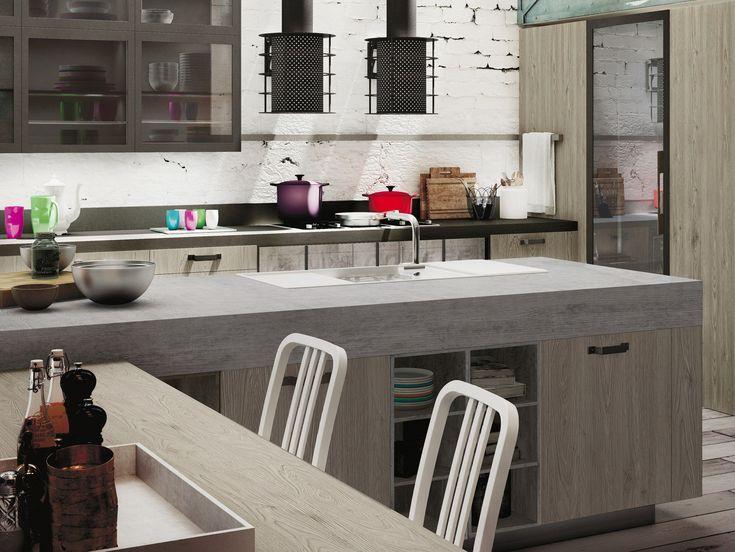 14 best snaidero loft images on pinterest   loft kitchen
