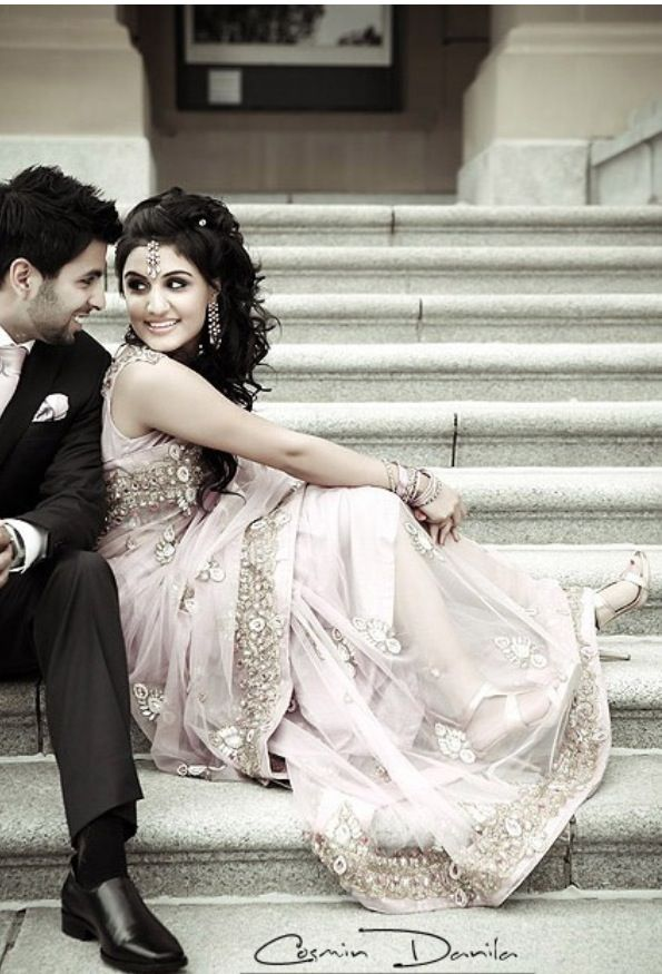 Skih/punjabi wedding couple! Cuties