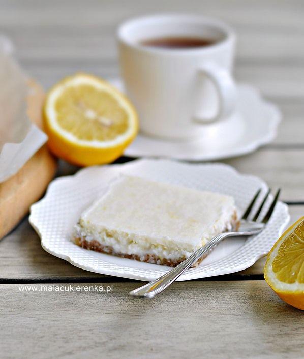 Ciastka cytrynowo -kokosowe bez glutenu bez cukru wegańskie