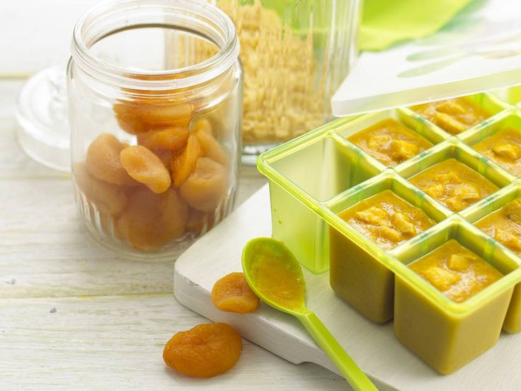 Whilst a very hot chicken curry may not hit the spot for babies, a mild and creamy one is often popular. Dried apricots are rich in betacarotene and also contain iron and korma paste has a slightly sweet flavour which is ideal for younger palates.