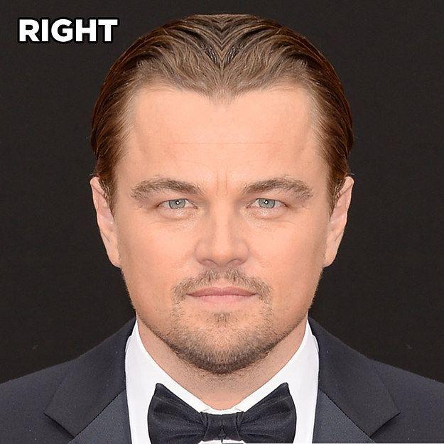 Voici à quoi ressembleraient 15 célébrités si leur visage était symétrique