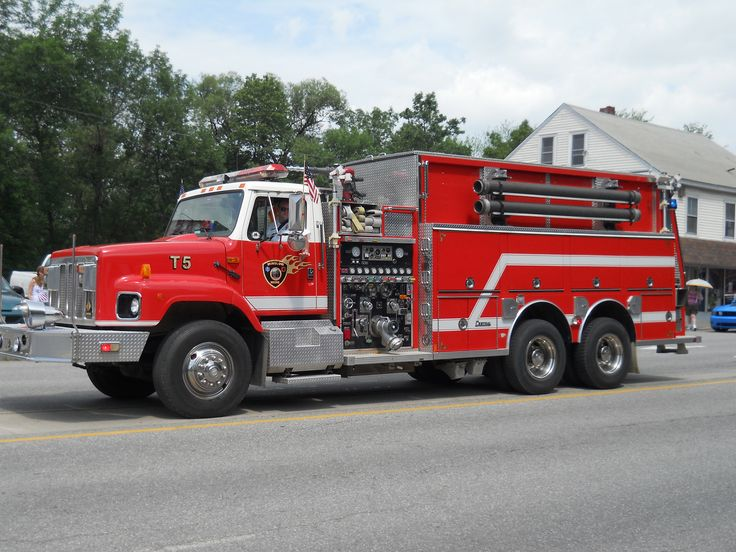T 5 winslow maine fire truck