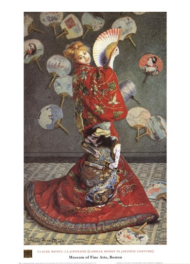 THE JAPONESA: Costumes, Claude Monet, Fine Art, Madame Monet, Claudemonet, Painting, Japanese Costume