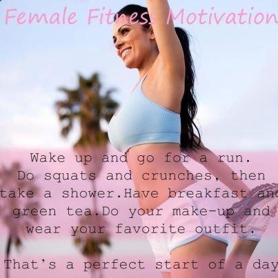Women Fitness Motivation | Female-Fitness-Motivational-8 - Motivate Inspire