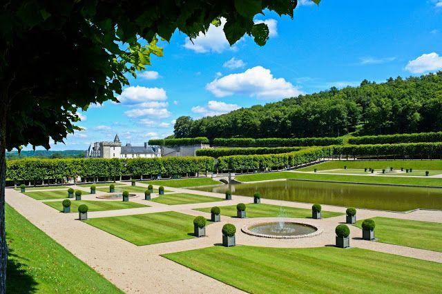 France, Loire Valley - Château de Villandry III (The Water Garden)
