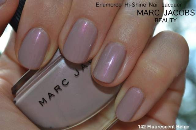 Marc Jacobs Fluorescent Beige via #MakeupMaven @My Lucite Dreams