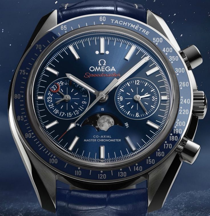 Omega Speedmaster Moonphase Chronograph Master Chronometer Watch For 2016