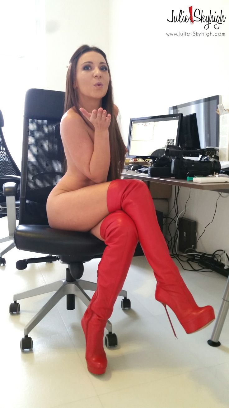 High sexy boots stockings heels