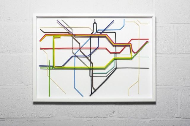 *London Underground Tube Map Created With Drinking Straws - http://laughingsquid.com/london-underground-tube-map-created-with-drinking-straws/?utm_source=feedburner_medium=feed_campaign=Feed%3A+laughingsquid+%28Laughing+Squid%29_content=Google+Reader