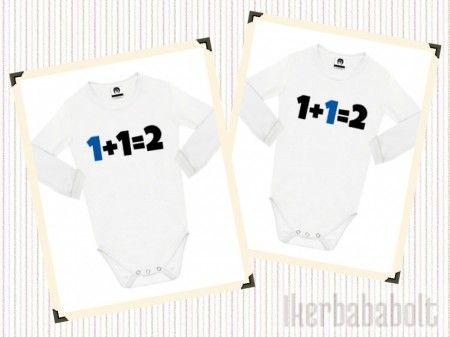 1+1=2 baba ikerbodyk több színben