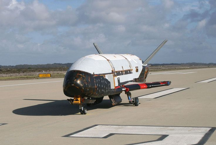 Boeing X-37B after ground tests at Vandenberg AFB, October 2007