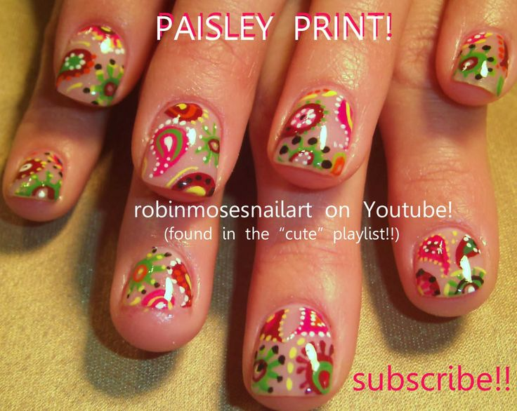 421 best cute nail art pictures with tutorials images on pinterest nail art by robin moses prinsesfo Choice Image