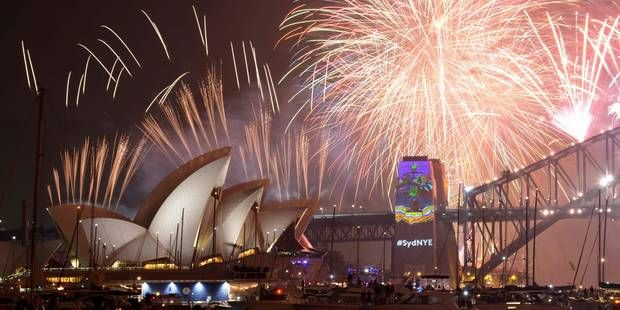 Sydney épate le monde avec son feu d'artifice de Nouvel An (VIDEO)