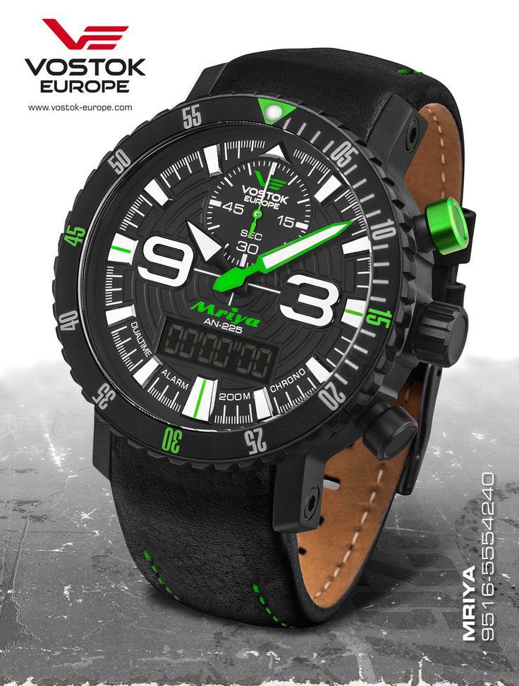 Vostok-Europe Mriya AnaDigi Watch 9516/5554251