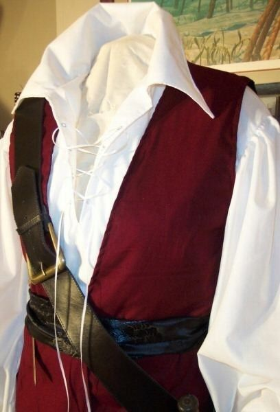 Pirate mens Renaissance Buccaneer Mate custom by zachulascrypt, $225.00