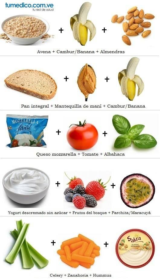 Meriendas saludables f ciles de hacer saludables - Comidas saludables faciles de hacer ...