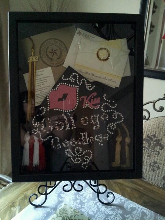 17 Best Ideas About Graduation Shadow Boxes On Pinterest