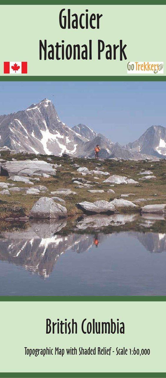 Glacier National Park map | Canada National Park | by GoTrekkers