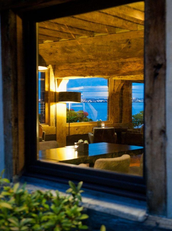 Restaurant Hotel Honfleur de charme restaurant vue mer Honfleur Normandie