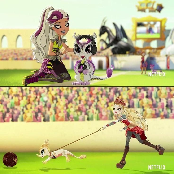 Pretty — Baby Dragons in Ever After High Dragon Games Serie...