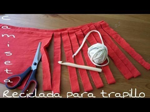 El trapillo es muy económico porque se puede hacer reciclando camisetas. ¡Aprende cómo! ¡Podrás hacer un montón de manualidades!