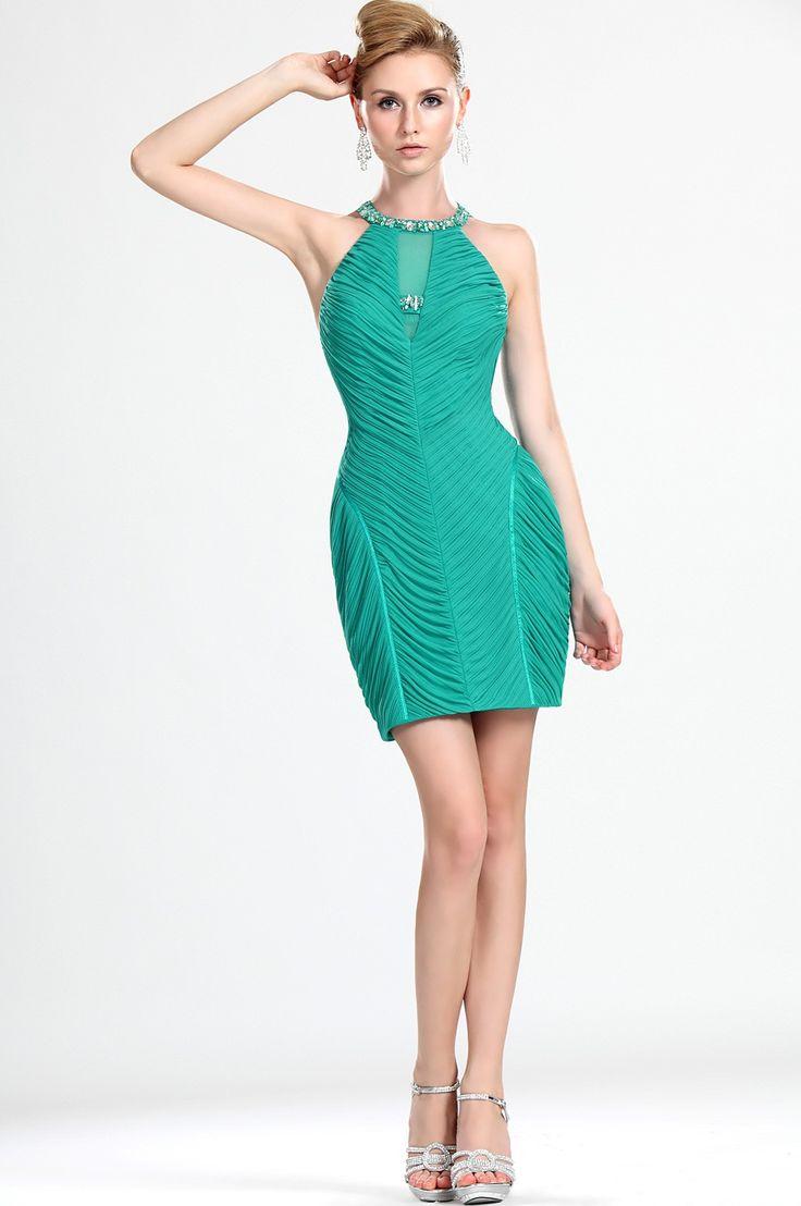 Cocktail-Dress-Green