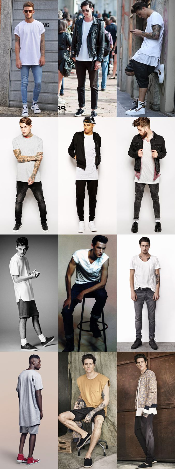 Men's Summer Daring Fashion Trends: The Oversized Tee Lookbook Inspiration