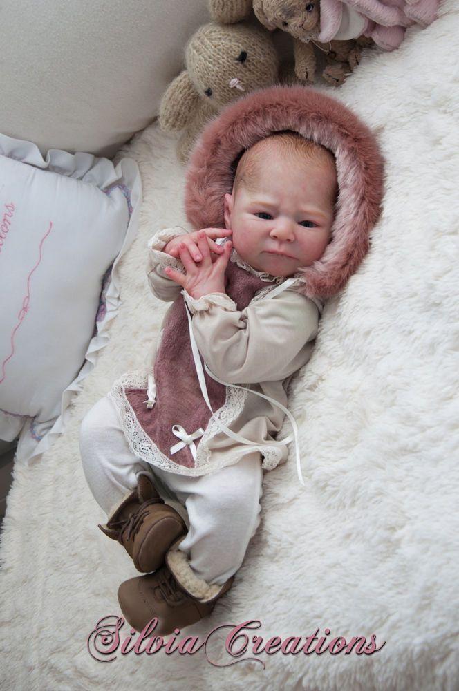 **SILVIACREATIONS** LAINEY Prototype by ALICIA TONER *Cute big baby* in Dolls & Bears, Dolls, Clothing & Accessories, Artist & Handmade Dolls   eBay