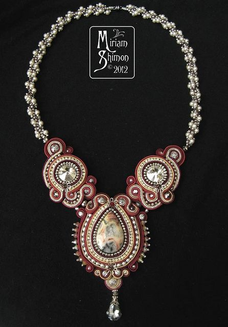 Mangolia Soutache necklace | Flickr - Photo Sharing!