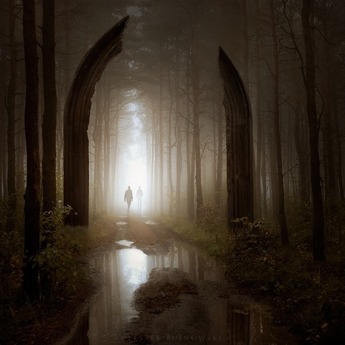 Lost between Worlds   By Leszek Bujnowski