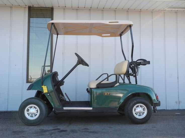 We're down to just one remaining unit of our bargain priced 2007 E-Z-GO TXT gas golf cars. This unit is already equipped with headlights, tail lights, and silver E-Z-GO hubcaps for only $2790. See more at: http://www.powerequipmentsolutions.com/products-a-services/online-store/used-golf-carts/e-z-go-golf-carts/e-z-go-gas-golf-carts/2007-e-z-go-gas-golf-car-green.html  #EZGO #TXT #gasgolfcar #usedgolfcar #forsale #PES #Vandalia