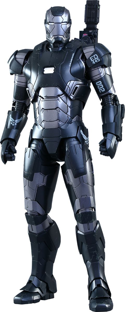 Hot Toys War Machine Mark II Sixth Scale Figure!    Click on the picture again till you get to the Sideshow page for more pics, details, and to pre-order!