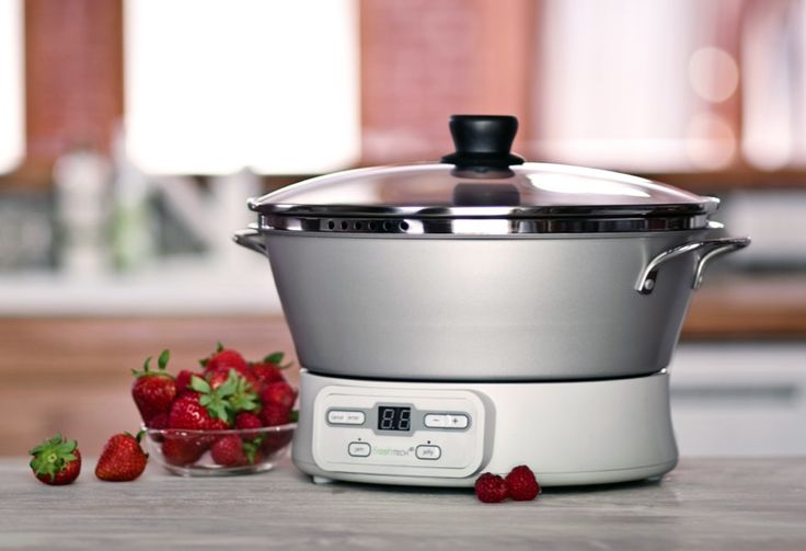 Enjoy fresh, homemade jam in 30 minutes with the new Ball® FreshTECH Automatic Jam Maker