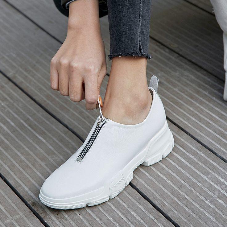 Chiko Elli Zip Front Platform Dad Sneakers