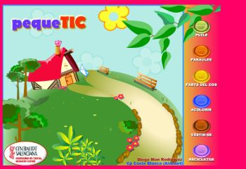 Actividades para Educación Infantil: Juegos variados PEQUETIC