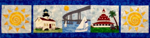 Row by Row Experience 2016! Get your free pattern for this at the Beverly Fabrics in San Diego, CA