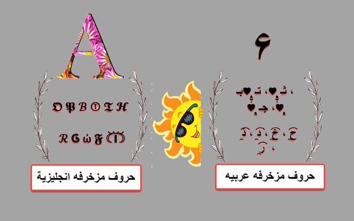 حروف عربية وانجليزية مزخرفة وجاهزة Movie Posters Character Poster