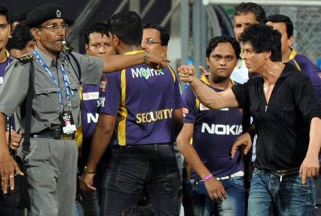 In pics: Shah Rukh Khan's brawl at the Wankhede Stadium
