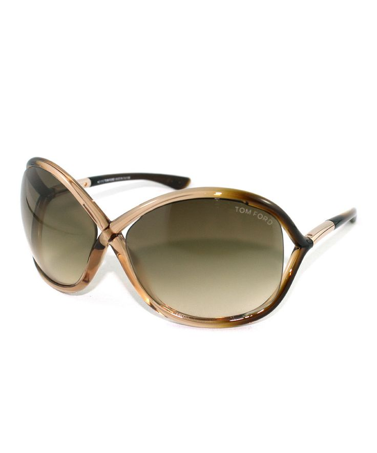 Tom Ford SALE: Brown Ombré Whitney Sunglasses (more styles): Love it!
