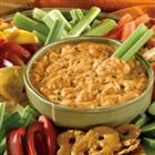 Frank's Red Hot Buffalo Chicken Dip - use ranch dressing instead of bleu cheese