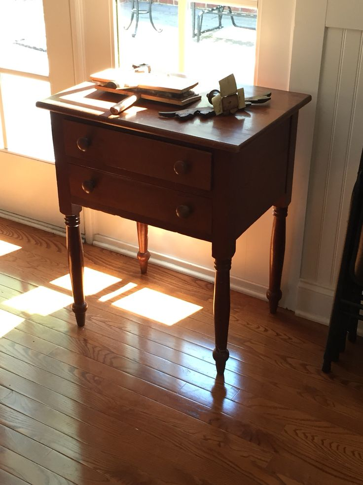 End table from farm | Small Furniture | Pinterest | Small ...