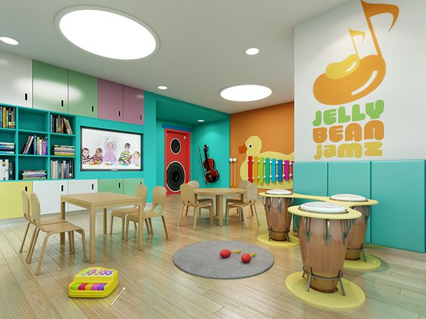 Nanjing 61 Space Preschool And Kindergarten Design On Behance InteriorKindergarten