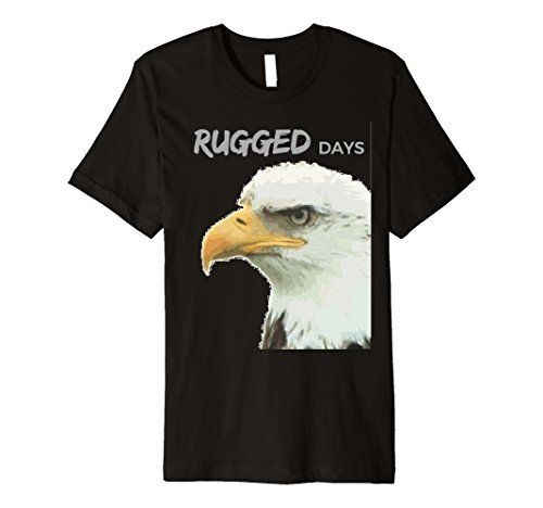 Rugged Days short sleeve tee with an awesome eagle