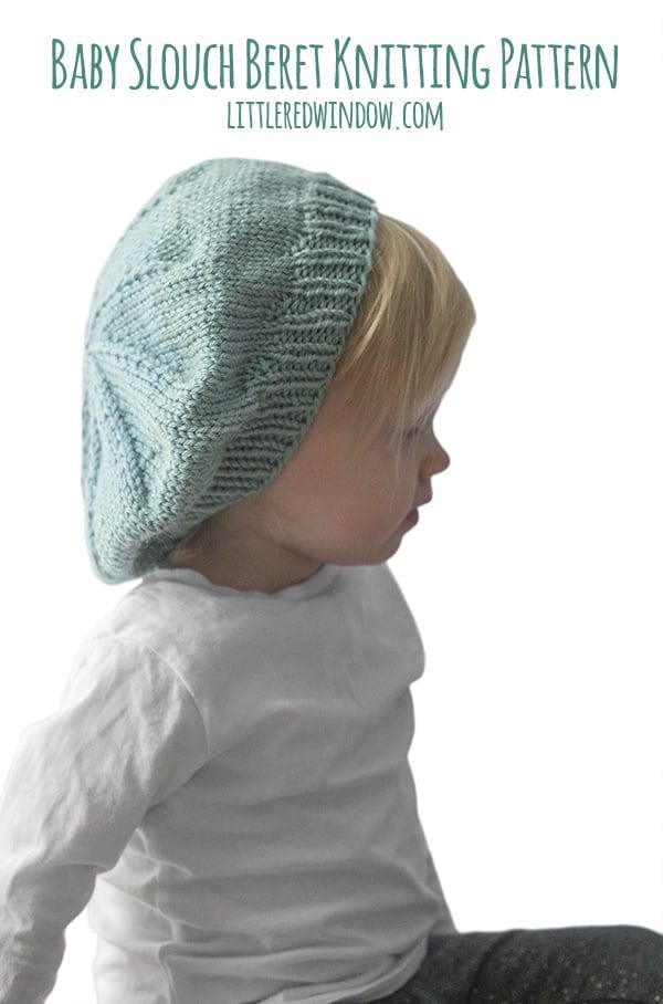 43c77363d Slouchy Baby Hat Knitting Pattern   Baby Beanies   Baby hat knitting ...