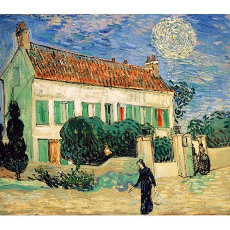 Reprodukcje obrazów Vincent van Gogh White house night - Fedkolor